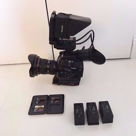 CANON C300 - WITH EXTRAS - £2500