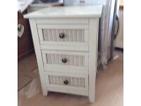 Bedroom set wardrobe/chest / bedside cabinets