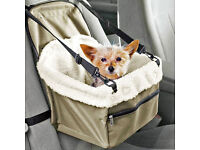 new dog car booster seat