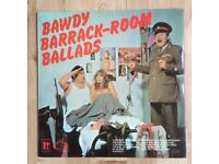 Bawdy Barrack-Room Ballads LP Vinyl 1971