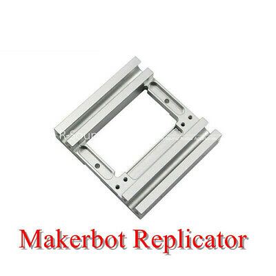 Print Makerbot Replicator X-axis Extruder Double Bracket Mounting Aluminum