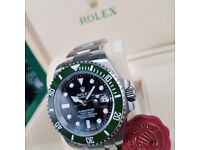 Rolex Submariner Kermit Edition Oyster Bracelet. New, Boxed with Paperwork and 1 Year Warranty