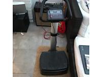Shaker plate, vibration plate gym equipment