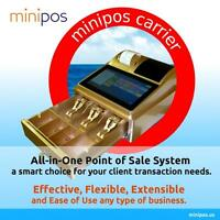 New POS System, MiniPOS Digital Cash Register System. Just touch then Deal!