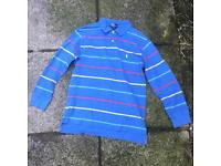 Ralph Lauren long sleeve polo shirt 12-14