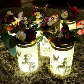 Fairy light lanterns