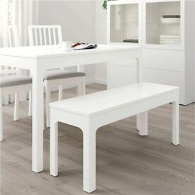 x4 Bench Seats - White