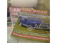 Free Car Magazines. Car Mechanic and Total Off Road 4x4. Approx 100