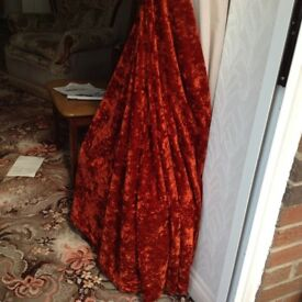 2 Matching Pairs of Curtains. Immac.Cond. Each Curtain 8ft x 6ft.