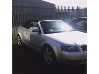 2005 Audi A4 Quattro Convertible 1.8t Low Miles Great Condition Full Years Mot