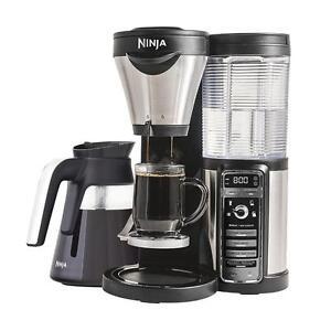 Ninja CF080C Coffee Bar Brewer, Black Silver