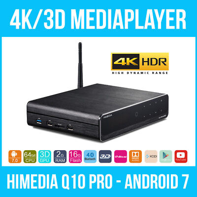 HIMEDIA™ Q10 PRO 4K (Ultra HD) & 3D Mediaplayer Android Smart TV Box / Mini PC