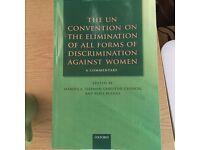 Textbook Law/Gender - Freeman, Chinkin, UN Convention on Elimination Discrimination against Women
