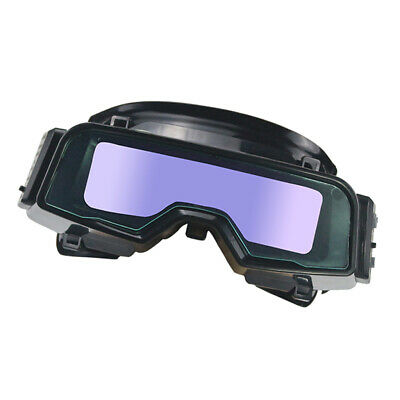 Solar Auto Darkening Goggles Shade Safety Protectives Welding Glasses Adjustable