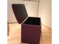 Ottoman/blanket box. Very useful storage in good condition. Al;so makes a sturdy seat.