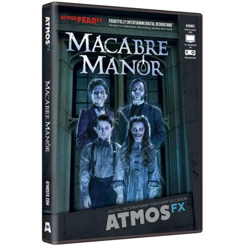 AtmosFearFX Macbre Manor Halloween Digital Decoration DVD