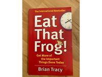 Eat that frog by Brian Tracey book