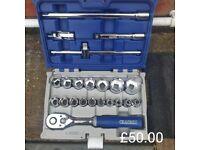 """Expert E032908 42 Piece 1/2"""" Drive Socket Set 8-32mm"""