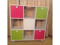Lovely cube storage unit