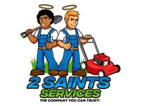 2 Saints Services - The Company you can Trust! (Garden Services/ Landscaping /Removals & Clearances)