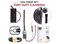 Hidden Spy Camera WiFi Mini 1080P DIY Module P2P Remote Monitor Nanny Cam