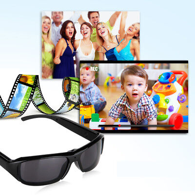 HD 720P Polarized Spy Hidden Camera Sunglasses DV Eyewear Digital Video Recorder