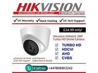 Hikvison HiWatch 2MP Turbo-HD Dome Turret CCTV Camera