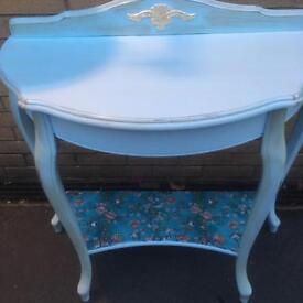 French Style Moon Console Table