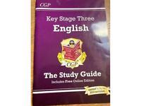 KS3 English study guide.