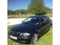 BMW 3 Series 1.8 316ti ES Compact 3dr 9 months mot 6speed Automatic gear box Petrol mileage 100k