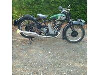 BSA Sloper 1928