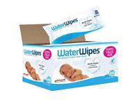 WaterWipes Sensitive Baby Wipes, 9 Packs x 60 Wipes (540 Wipes)