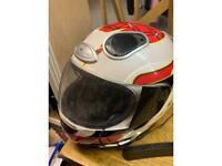 Crash helmet speaker