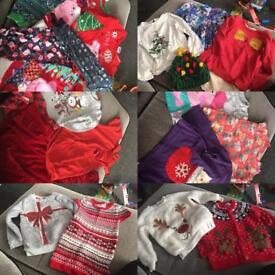 Huge xmas clothes bundle!!!🎄🎁🎅🏻