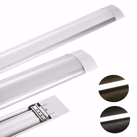 4 foot ceiling tube light 1x4 battern brand new in box for sale