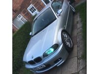 BMW 318 CI SE 2002 M SPORTS BODYKIT MIRRORS LEATHERS SPOILERS PEDALS FULL HISTORY SPARES OR REPAIRS