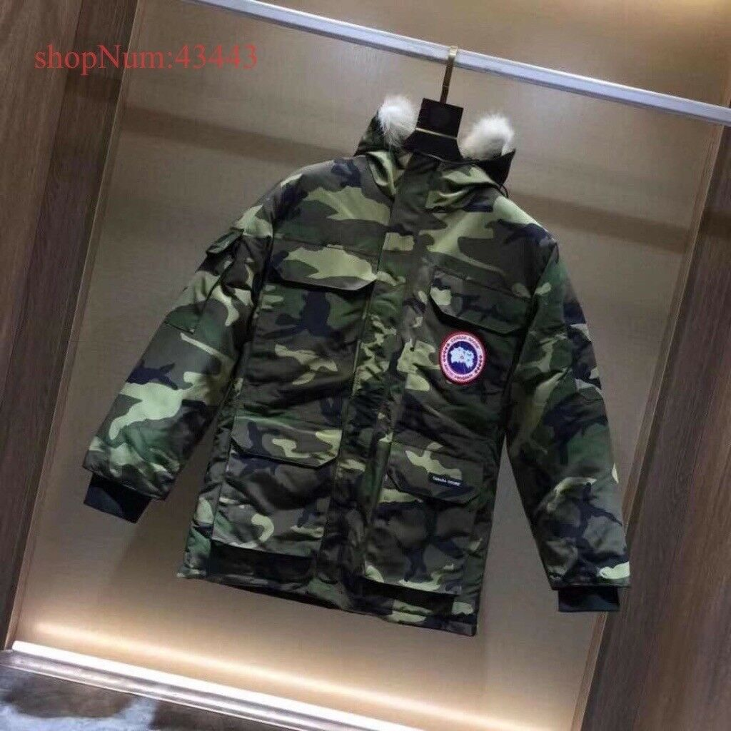 Canada Goose Camo Expedition Parka Coat