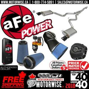 10% OFF ALL aFe Power Performance Products | Free Fast Shipping Canada Wide | Shop & Order Online at www.motorwise.ca