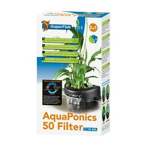 Superfish aquaponics filter 50 or 100 fish tank filter for Aquaponics filter