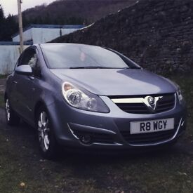 Vauxhall corsa sxi 3 door metallic grey BRAND NEW MOT