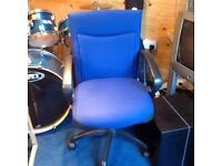 Blue office chair for sale