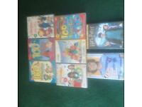 CHILDRENS DVDS FROM £1 EACH