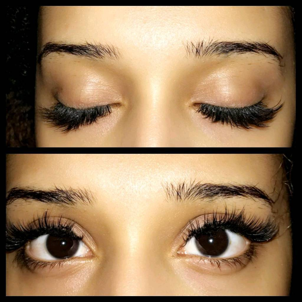 Mink Eyelash Extensions Promotion 4500 For A Full Set Of Top