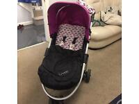 Mamas and papas lunamix pushchair stroller