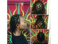 Experienced loctition Hairdresser Dreadlocks starter locs Afro single plaits braids twist cainrows