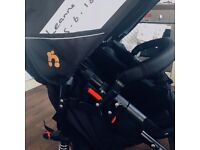 Out n about v4 double pram