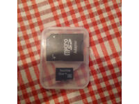 SANDISK Micro SD Card 32GB Fully Working formatted to FAT32