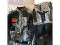 Richa textile Jacket and Trousers for motorbike