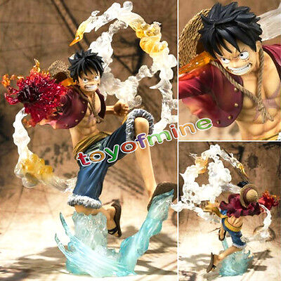 Anime One Piece Toy Figure Doll  POP Monkey D Luffy Battle Ver Figure Cool Gift