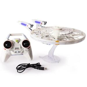New Air Hogs, Star Trek U.S.S Enterprise NCC-1701-A, Remote Control Drone with Lights and Sounds, 2.4 GHZ, 4 Channel